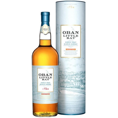 Whisky Scotch Highland Single Malt Small Cask Little Bay Oban 70 Cl in Astuccio