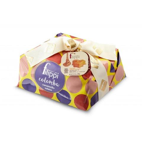Colomba al caramello Salato Pasticceria Filippi 750 Gr