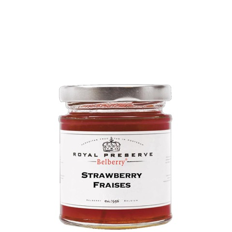 Confettura Fragola Strawberry Royal Reserve Belberry 215 Gr
