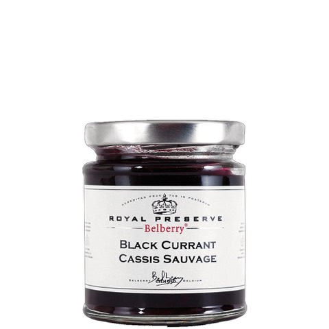 Confettura Ribes Nero Black Currant Royal Reserve Belberry 215 Gr