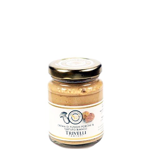 Crema di Funghi Porcini e Tartufo Bianco Trivelli 90 Gr