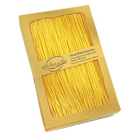 Maccheroncini Pasta Secca all'uovo La Pasta di Aldo 250 Gr