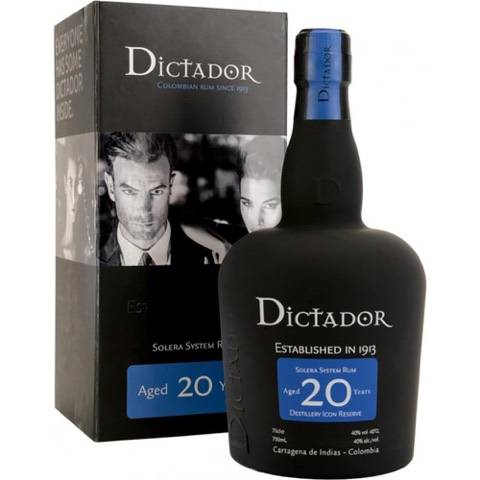 Rum 20 Years Old Dictador 700 Ml