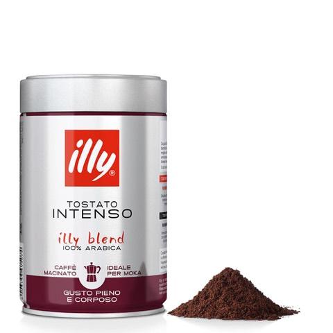 Caffè Macinato per Moka Tostato Intenso Illy Barattolo Gr.250