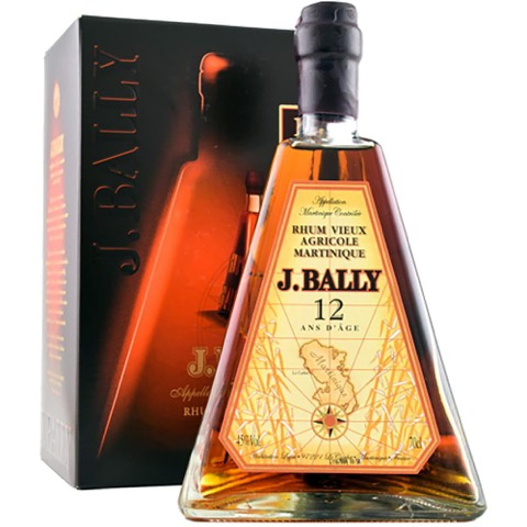 Rum Agricole Martinique 12 Years J. Bally 700 Ml