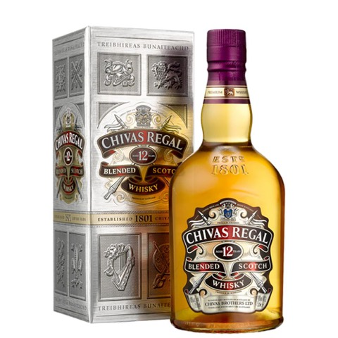 Whisky 12 Year Chivas Regal 700 Ml