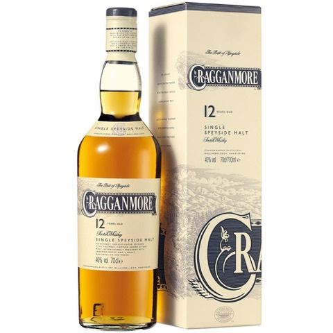Whisky 12 Year Cragganmore 70 Cl