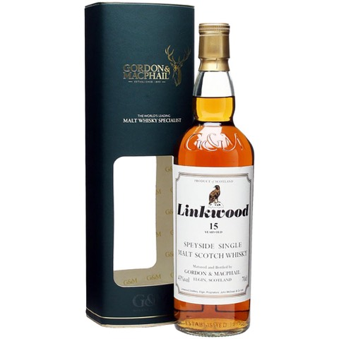 Whisky 15 Years Old Gordon & Macphail Linkwood 70 Cl