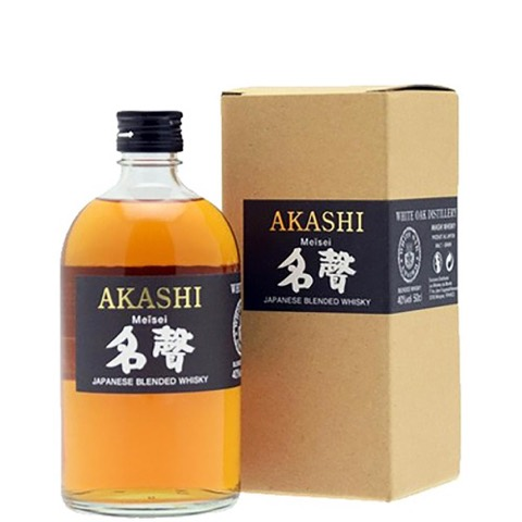 Whisky Blended Japanese Meisei Akashi 50 Cl