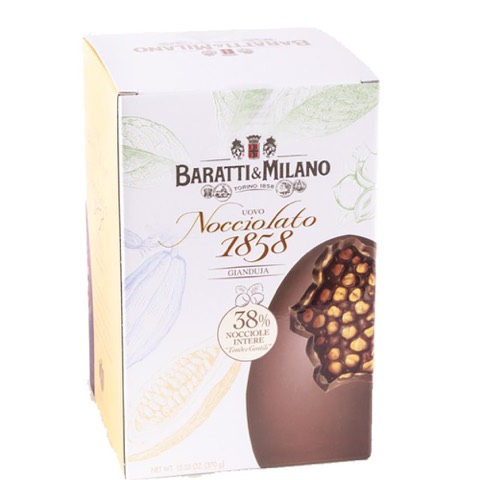 Uovo Nocciolato Gianduja Baratti & Milano 370 Gr