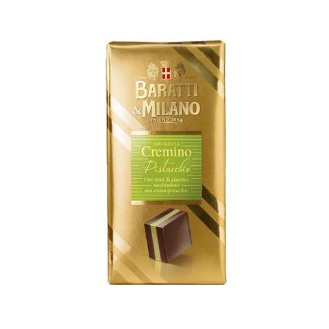Tavoletta Cremino Pistacchio Baratti & Milano 100 Gr.