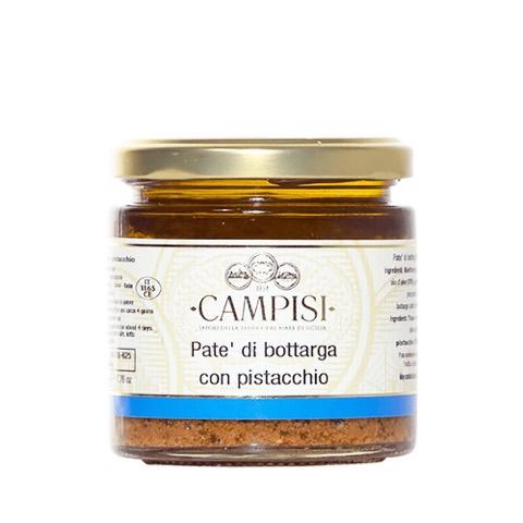 Patè di Bottarga con Pistacchio Campisi Vaso in Vetro 220 Gr