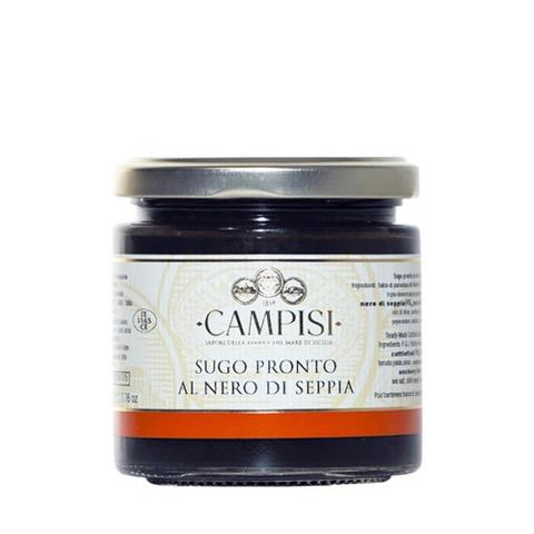 Sugo Pronto al Nero di Seppia Campisi 220 Gr