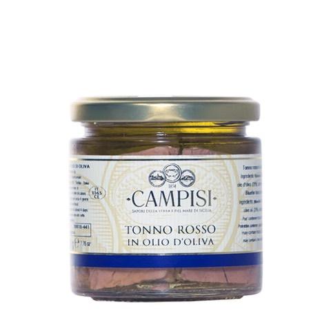 Tonno Rosso in Olio d'Oliva Campisi 220 Gr