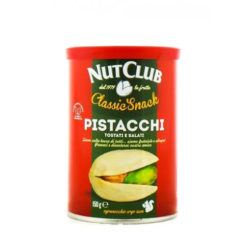 Pistacchi Tostati e Salati Nut Club Barattolo 150 Gr