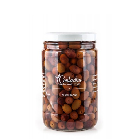 Olive Leccine I Contadini 550 Gr.