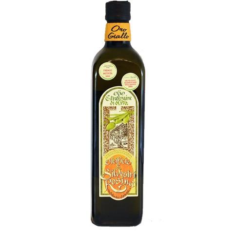 Olio Extra Vergine di Oliva Marasca ORO GIALLO (Gusto Delicato) Oleificio Silvestri Rosina 75 Cl