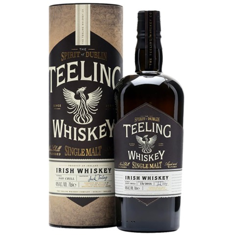 Whiskey Irish Single Malt Non Chill Filtered Teeling 70 Cl in Tubo