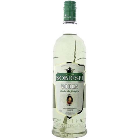 Vodka Premium Herbe Pologne Sobieski 70 Cl
