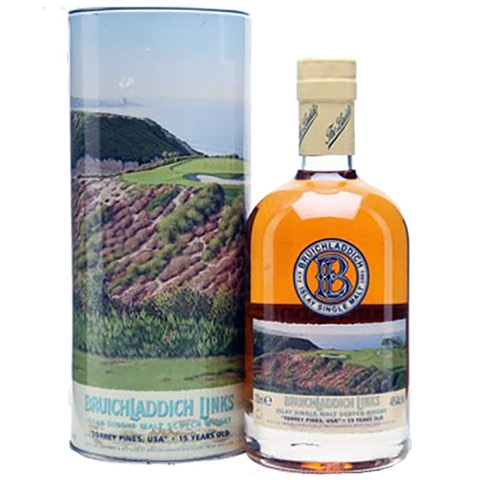 Whisky Islay Scotch Single Malt 15 Years Old Links Torrey Pines USA Limited Edition Bruichladdich 70 Cl