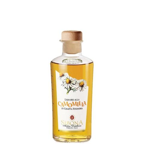 Liquore alla Camomilla in Grappa Finissima Sibona 50 Cl