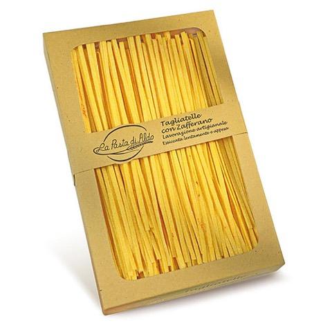 Tagliatelle Con Zafferano La Pasta di Aldo 250 Gr