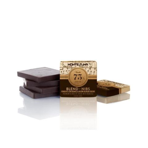 Cioccolatini GranBlend Montezuma Nibs 75% Venchi Busta 1 Kg