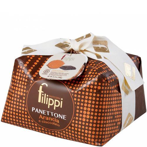 Panettone Arancia e Cioccolato Pasticceria Filippi 1 Kg