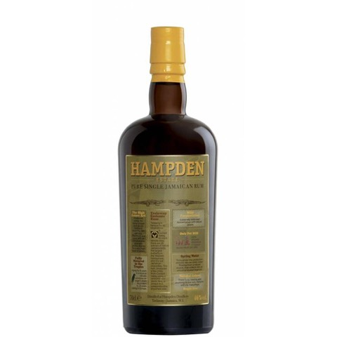 Rum Jamaica Pure Single Hampden Estate 70 Cl