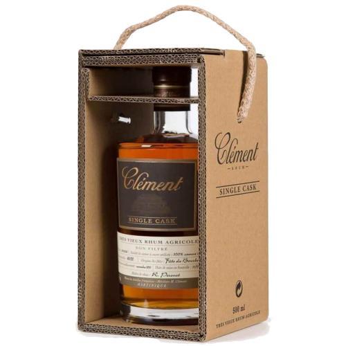 Rum Rhum Agricole Martinica Tres Vieux Single Cask 100 % Canne Bleue Clement 50 Cl