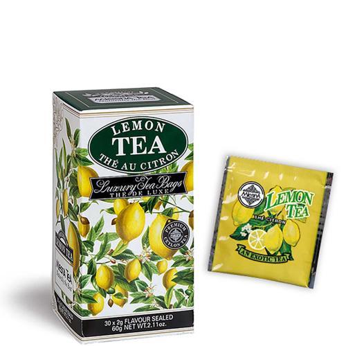 Tè The Lemon Premium Ceylon Tea Mlesna Confezione 30 Filtri