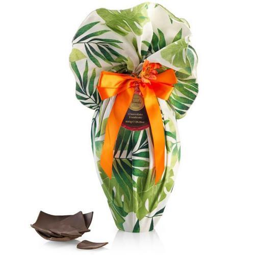 Uovo Cioccolato Fondente Tovaglia Esotico Venchi 800 Gr