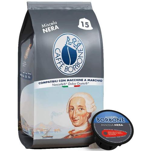Capsule Dolce Gusto Caffè  Nera Borbone Confezione 15 pz