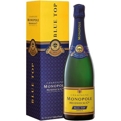 Champagne Brut Blu Top Heidsieck Monopole in Astuccio