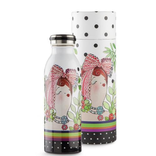 Bottiglia Termica Ml 500 Le Pupazze Colore Bianco Egan