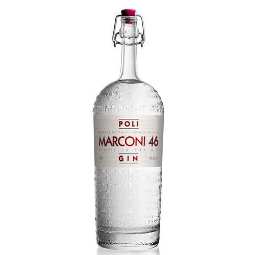 Gin Dry Marconi 46 Distillerie Poli 70 Cl