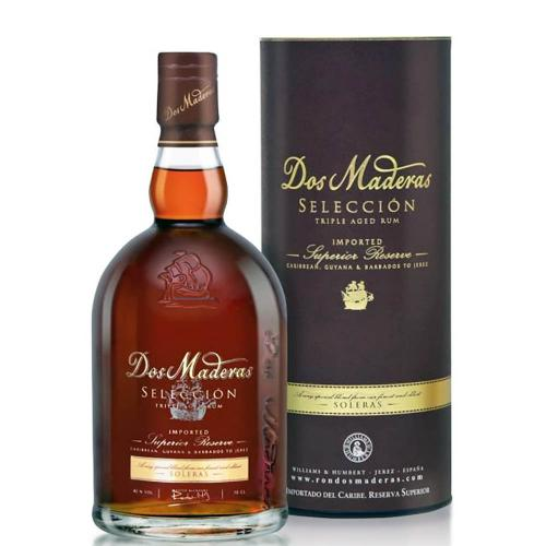 Rum Ron Dos Maderas PX 5 + 5 Anos William & Humbert 70 Cl