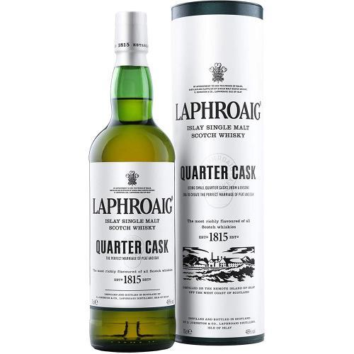 Whisky Islay Single Malt Scotch Quater Cask Laphroaig 70 Cl in Tubo