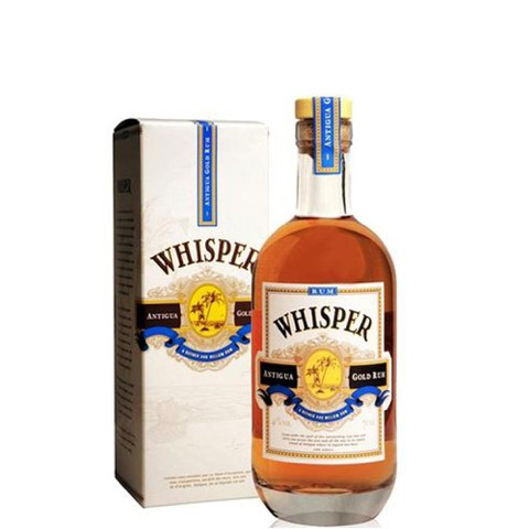 Rum Gold Antigua Whisper 70 Cl in Astuccio