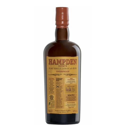 Rum Jamaica Pure Single Rum Overproof Hampden Estate 70 Cl