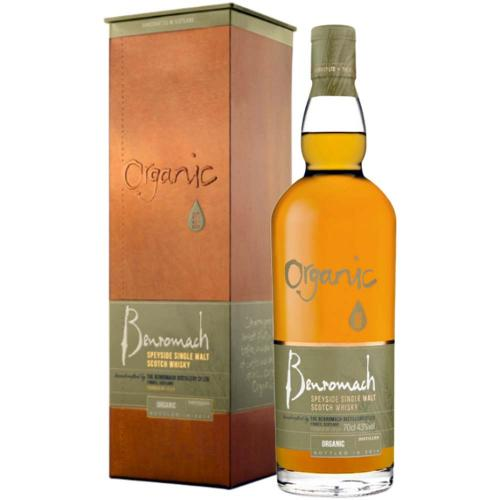 Whisky Scotch Single Malt Speyside Organic Distilled 2010 Bottled 2017 Benromach 70 Cl in Astuccio