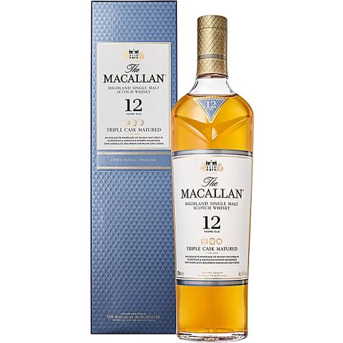 Whisky Single Malt Highland Triple Cask 12 Years Old The Macallan 70 Cl