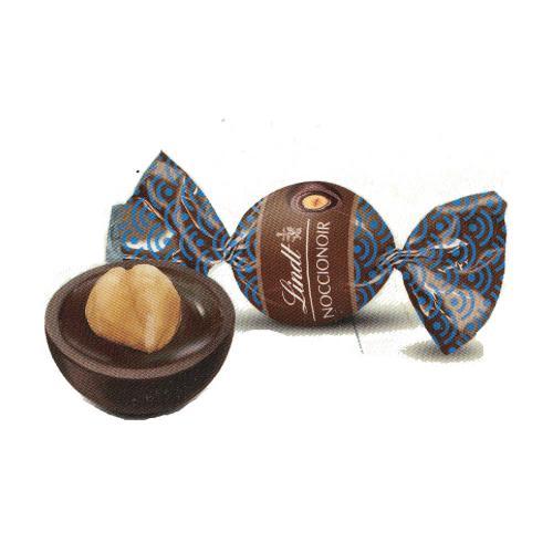 Praline con Cioccolato Fondente extra Ripieno alle Nocciole Nocciola Intera Lindt 1 kg