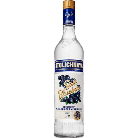 Vodka Blueberi Stolichnaya 70 Cl