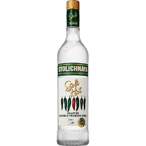 Vodka Hot Stolichnaya 70 Cl