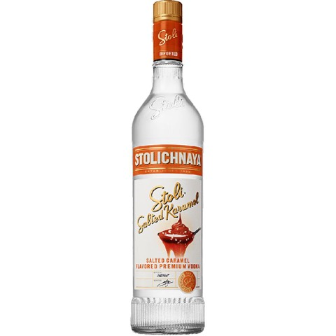 Vodka Karamel Salted Stolichnaya 70 Cl