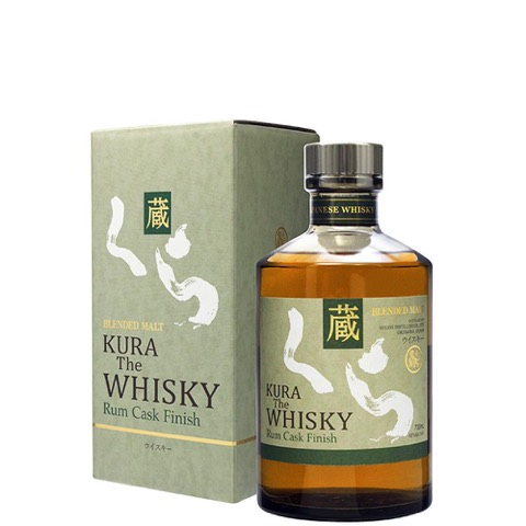 Whiskey Blended Japan Rum Cask Finish Kura 50 Cl in Astuccio