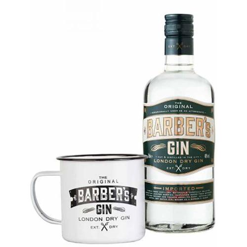 Gin London Dry Barber's 70 Cl + 1 Mug