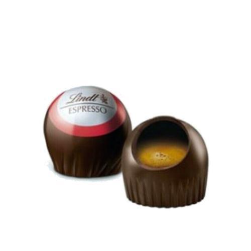 Praline con Cioccolato Extra Fondente 70% e Ripieno Liquido di Caffè Lindt 1 kg