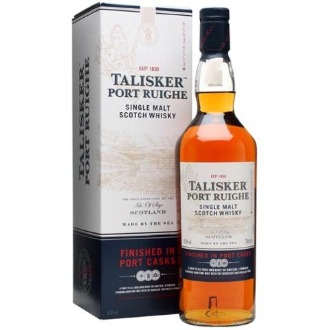 Whisky Scotch Skye Single Malt Finished in Port Casks Port Ruighe Talisker 70 Cl